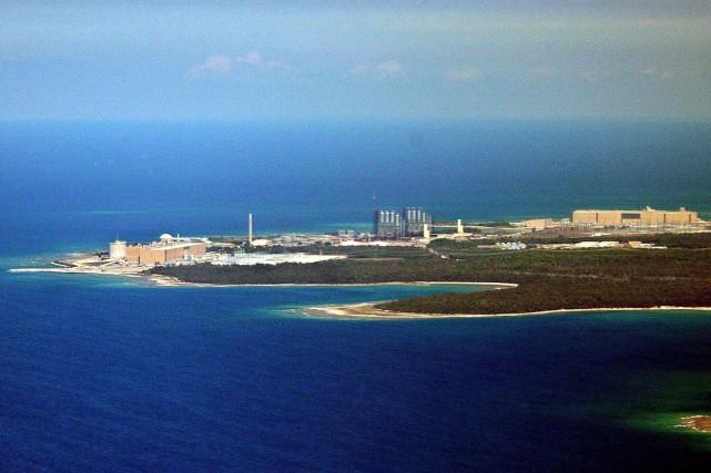 Vue aérienne sur la centrale nucléaire Bruce.... (PHOTO ARCHIVES LA PRESSE CANADIENNE)
