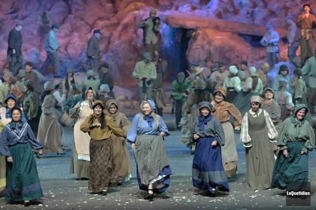 La Fabuleuse histoire d'un Royaume au Théâtre du... (Archives Le Quotidien, Rocket Lavoie)