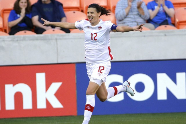Christine Sinclair... (Photo David J. Phillip, AP)