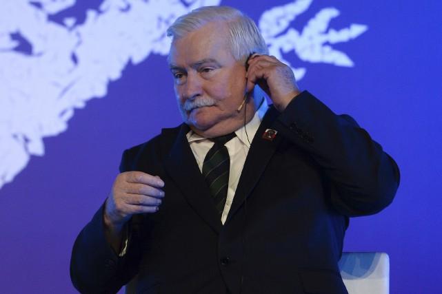 Lech Walesa a une nouvelle fois été mis... (AFP, Josep Lago)
