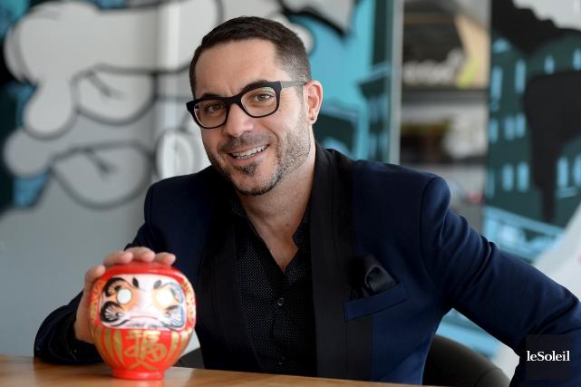 Le fondateur de Sushi Taxi, Christian Genest, n'a... (Le Soleil, Erick Labbé)