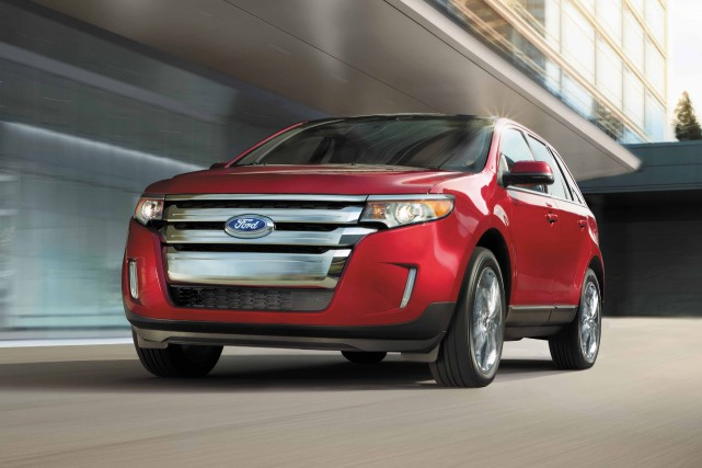 Le Ford Edge... (photo fournie par le constructeur)