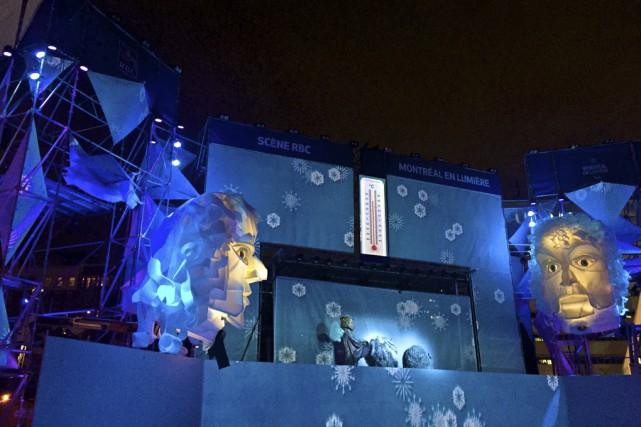 Démesure est présentement à l'affiche au festival Montréal... (Fournie par le Théâtre de la Dame de Coeur)