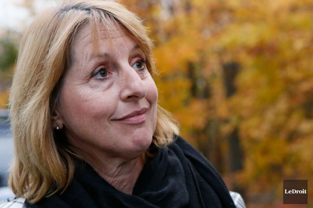 L'empressement de la mairesse Madeleine Brunette à se... (Simon Séguin-Bertrand, Archives LeDroit)
