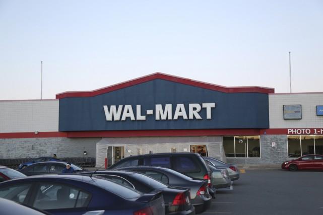 Le magasin Walmart de Granby sera transformé en... (photo archives la voix de l'est)
