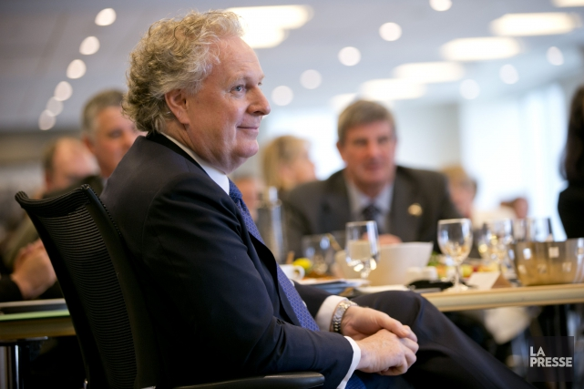 L'ancien premier ministre du Québec, Jean Charest... (PHOTO DAVID BOILY, ARCHIVES LA PRESSE)