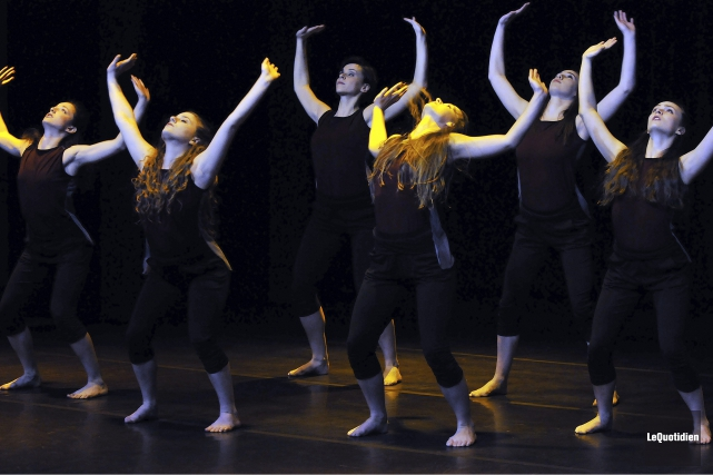 Le Ballet contemporain du Nord a rendu justice... (Photo Le Quotidien, Rocket Lavoie)