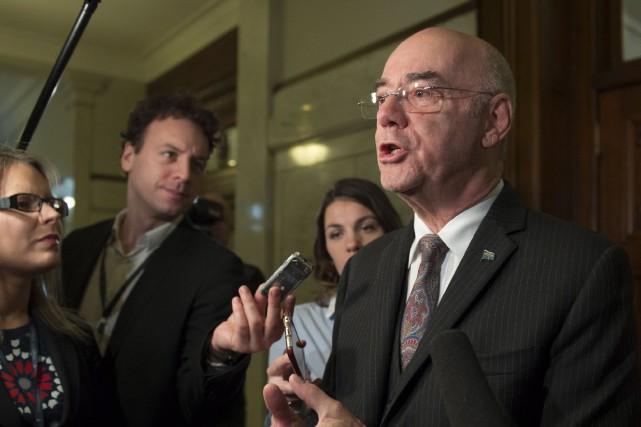 Jacques Daoust veut s'assurer que tous les impôts... (La Presse Canadienne, Jacques Boissinot)