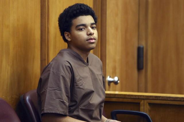 Marc Wabafiyebazu, 15 ans, devra passer six mois... (AP, Walter Michot)