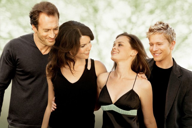 Cette image promotionnelle de Gilmore Girls datant de 2006... (Photo fournie par The WB)