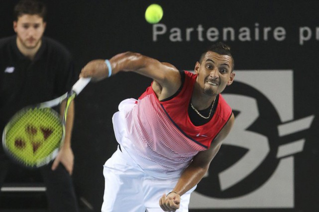 Nick Kyrgios... (PHOTO CLAUDE PARIS, AP)