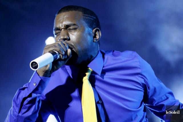Kanye West sur les Plaines en 2007... (Photothèque Le Soleil)