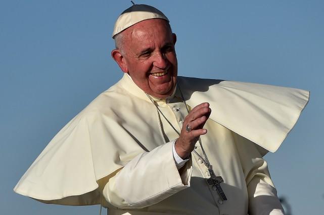 Dans le discours qu'il avait tenu aux cardinaux... (PHOTO ARCHIVES AFP)