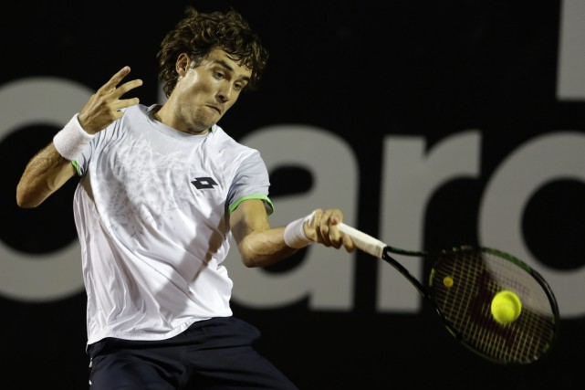 Guido Pella... (PHOTO ARCHIVES AP)