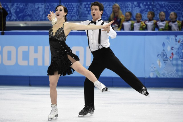 Tessa Virtue et Scott Moir... (PHOTO ARCHIVES LA PRESSE CANADIENNE)