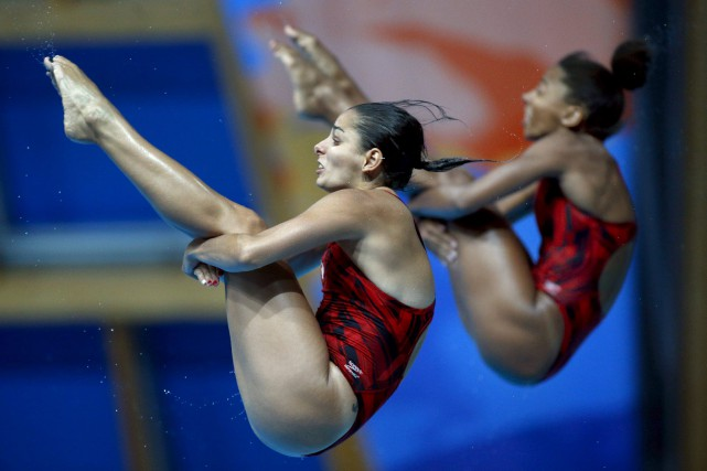 Pamela Ware et Jennifer Abel... (PHOTO ARCHIVES AP)
