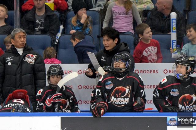 L'entraîneur-chef de la sélection japonaise, Taro Kurokawa, a... (Le Soleil, Erick Labbé)