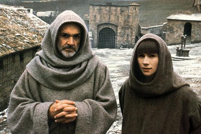 Sean Connery et Christian Slater dans Le nom... (Fournie par 20th Century Fox)