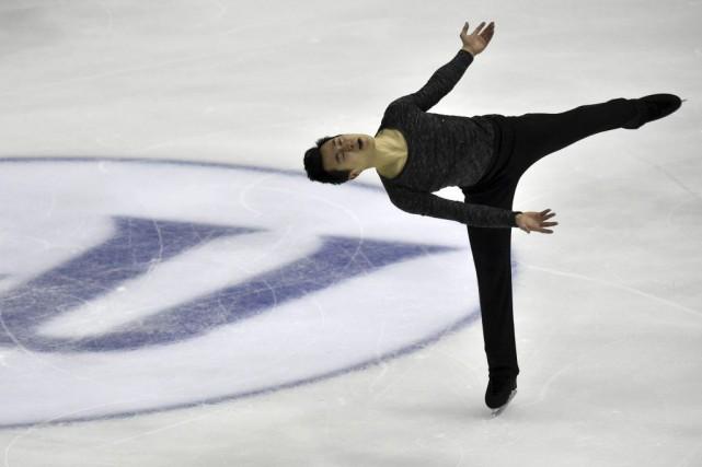 Patrick Chan aremporté son troisième titre à la... (PHOTO SAM YEH, AFP)