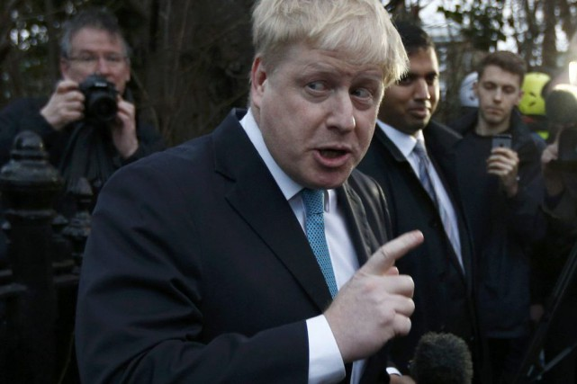 Boris Johnson... (PHOTO PETER NICHOLLS, REUTERS)