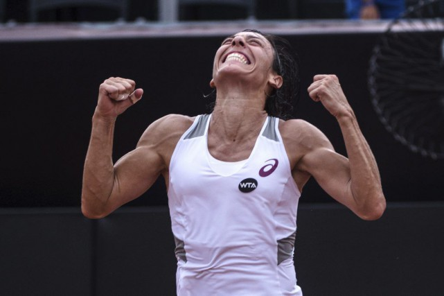 Francesca Schiavone a remportéle septièmetournoi de sa carrière.... (PHOTO YASUYOSHI CHIBA, AFP)