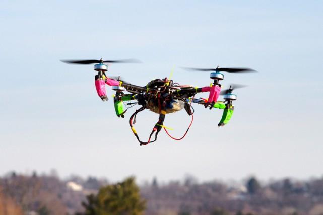Alors que le prix des drones est de... (ARCHIVES AFP)