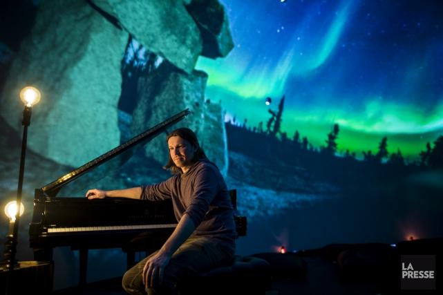 Le pianiste valois Roman Zavada est en spectacle... (photo Édouard Plante-Fréchette, La Presse)