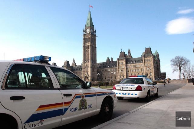 La Gendarmerie royale du Canada (GRC) est mal gérée et les cadres ignorent les... (Archives, LeDroit)