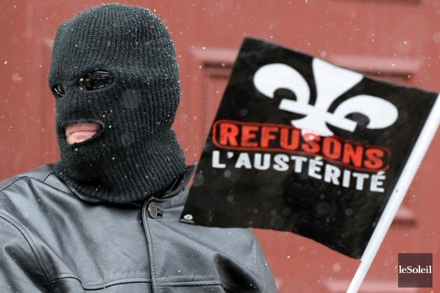 La question de l'austérité sera abordée de front... (Archives, Le Soleil)