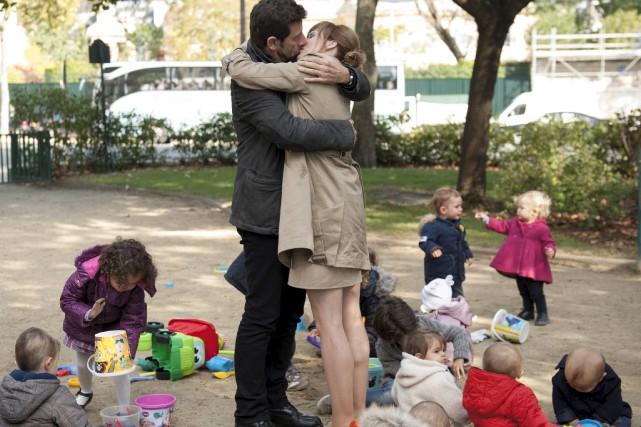 Patrick Bruel et Isabelle Carré jouent les rôles... (Fournie par AZ Films)