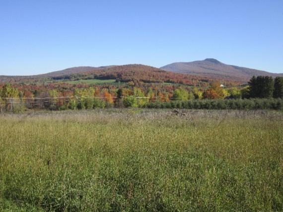 Cette vue sur le mont Pinacle, qui fait... (photo fournie par Philippe Choinière)