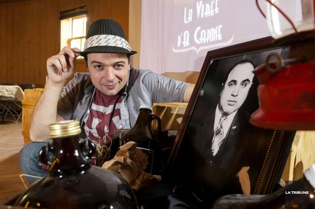 Steve Roy présentera son one-man-show La virée d'Al... (Archives La Tribune, Frédéric Côté)