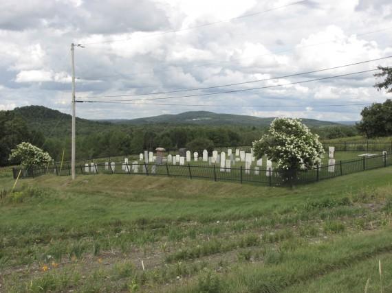 Le cimetière Strong, inactif depuis de nombreuses années,... (fournie par Héritage Sutton)