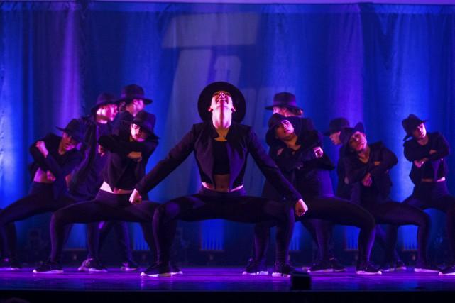 Plus de 500 danseurs ont démontré l'étendue de... (Olivier Croteau)