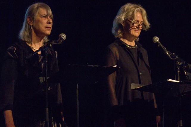 Accompagnées de la pianiste Ariane DesLions, Anne Dansereau... (Spectre média, Marie-Lou Béland)
