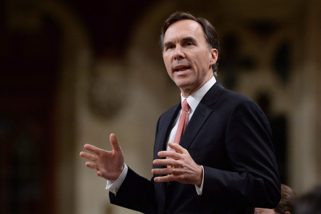 Le minisre des Finances Bill Morneau... (Photo PC)
