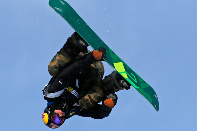 Mark McMorris... (PHOTO MATHIEU BELANGER, ARCHIVES REUTERS)