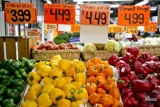 Le prix des aliments est l'un des défis qui ont compliqué le travail l'équipe... (Archives La Presse)