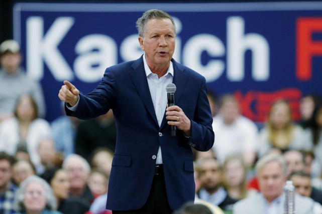 John Kasich... (PHOTO REUTERS)