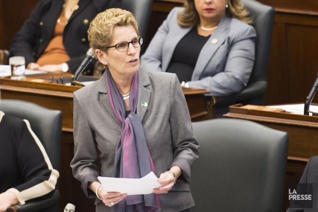 «Le courage et la ténacité incroyables des Franco-Ontariens... (PHOTO PC)