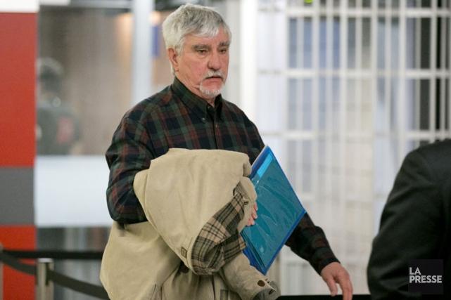 Le père de la victime, Yvon Fortin.... (PHOTO DAVID BOILY, LA PRESSE)