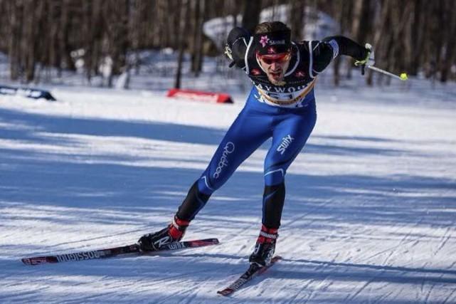 Le skieur Simon Lapointe de Gatineau.... (Courtoisie Patrick Haag, championnats de l'est)
