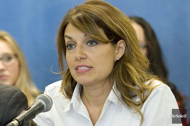 La conseillère municipale responsable de l'entrepreneuriat, Natacha Jean,... (Photothèque Le Soleil)