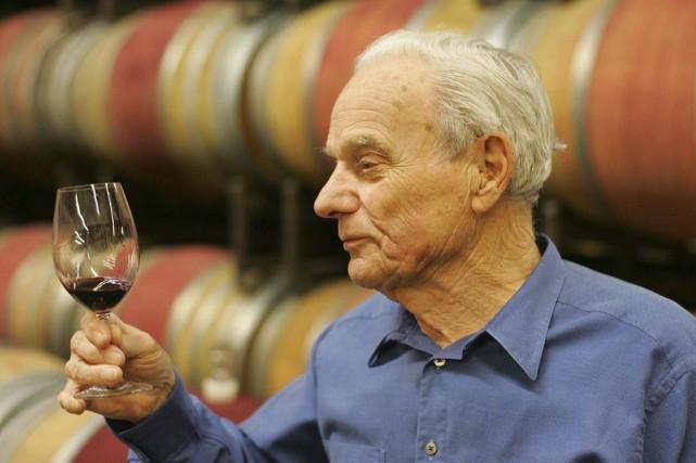 L'homme d'affaires américain Peter Mondavi, l'un des pionniers de la... (Photo AP)