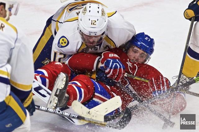 Relisez le clavardage du match entre les Predatorsde Nashville et le Canadien... (PHOTO ANDRÉ PICHETTE, LA PRESSE)