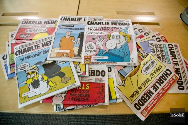 Le journal Charlie Hebdo lance un prix littéraire qui récompensera les... (Photothèque Le Soleil)