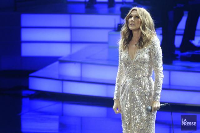 Céline Dion retrouve la scène mardi soir, au... (La Presse)