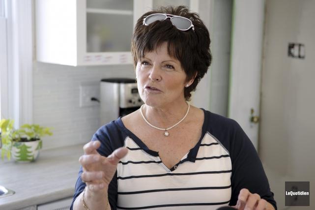 À 55 ans, Lyne Simard prouve qu'il n'est... (Photo Le Quotidien, Mariane L. St-Gelais)