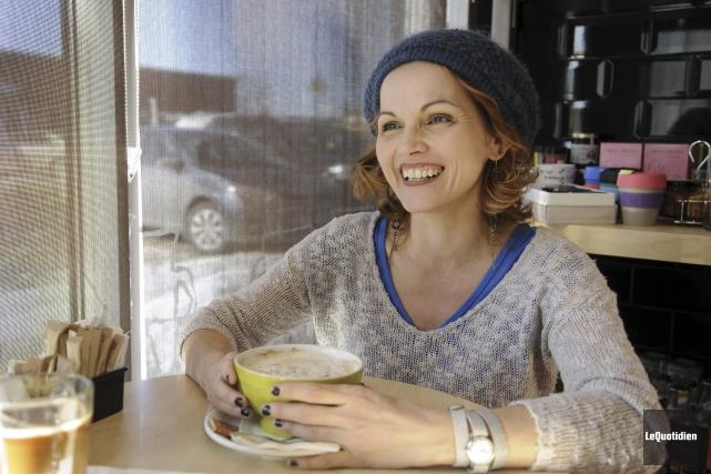 La comédienne Josée Gagnon jouera aux côtés d'Isabelle... (Photo Le Quotidien, Mariane L. St-Gelais)