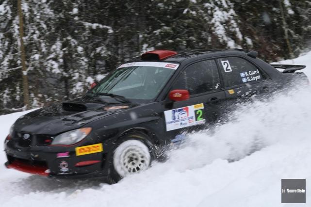 Le président du Championnat de rallye du Québec,... (Audrey Tremblay, Le Nouvelliste)